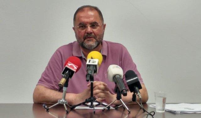 Valoración del Pleno Ordinario de mayo. Análisis de los principales puntos debatidos y acuerdos por parte del Portavoz de Ganar Totana IU, Juan José Cánovas.
