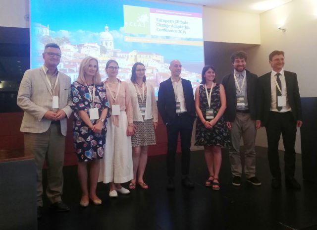 La Región muestra los progresos alcanzados en el proyecto ´Life Adaptate´ en la conferencia europea del cambio climático, Foto 1