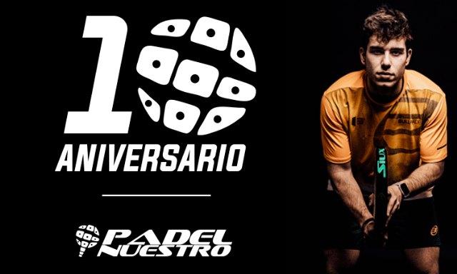Padel Nuestro celebra su décimo aniversario como líder del sector con una promoción irresistible - 1, Foto 1