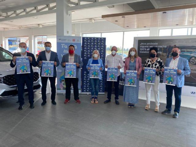 Murcia participará en la Jornada Solidaria de Reforestación de la Vía Verde del Noroeste - 1, Foto 1