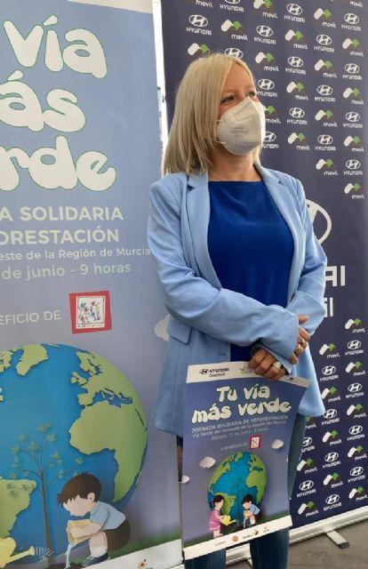 Murcia participará en la Jornada Solidaria de Reforestación de la Vía Verde del Noroeste - 2, Foto 2