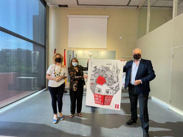 Presentación del cartel ganador de la Feria del Libro 2021 - 1, Foto 1