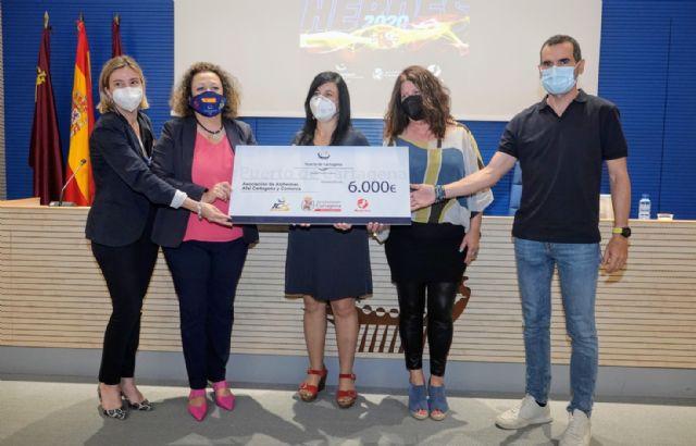 APC entrega a AFAL y la Asociación de Parkinson la recaudación de la edición más solidaria de la 10k Puerto de Cartagena - 1, Foto 1