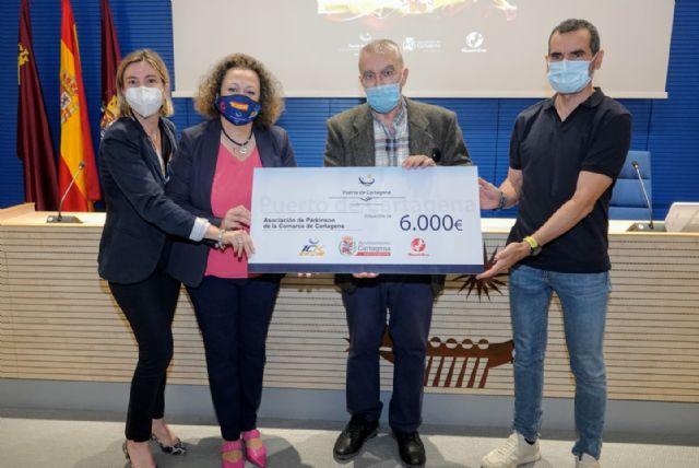 APC entrega a AFAL y la Asociación de Parkinson la recaudación de la edición más solidaria de la 10k Puerto de Cartagena - 2, Foto 2