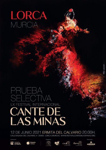 La Ermita del Calvario de Lorca acogerá la prueba selectiva del LX Festival Internacional del Cante de las Minas el sábado 12 de junio - 1, Foto 1