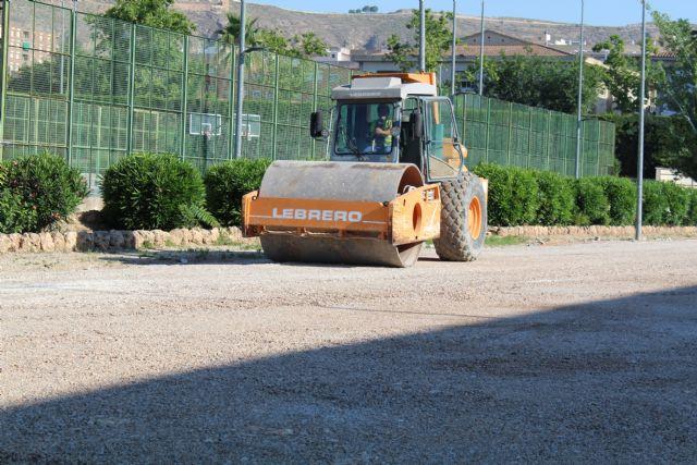 Las nuevas pistas de tenis estarán terminadas con el inicio de la nueva temporada deportiva - 1, Foto 1