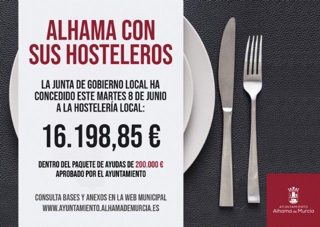 Diez nuevos negocios reciben otros 16.000 euros de ayudas municipales a la hostelería, Foto 1