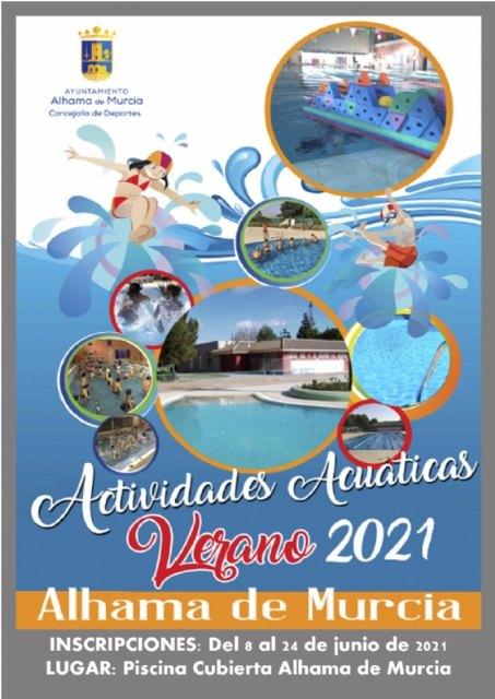Programa de actividades acuáticas y gimnasio 2021 - 1, Foto 1