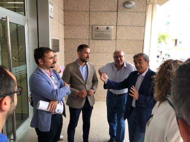 El Alcalde de Lorca, Diego José Mateos, inaugura la jornada Divisando oportunidades para mi empresa destacando la importancia del cooperativismo - 1, Foto 1