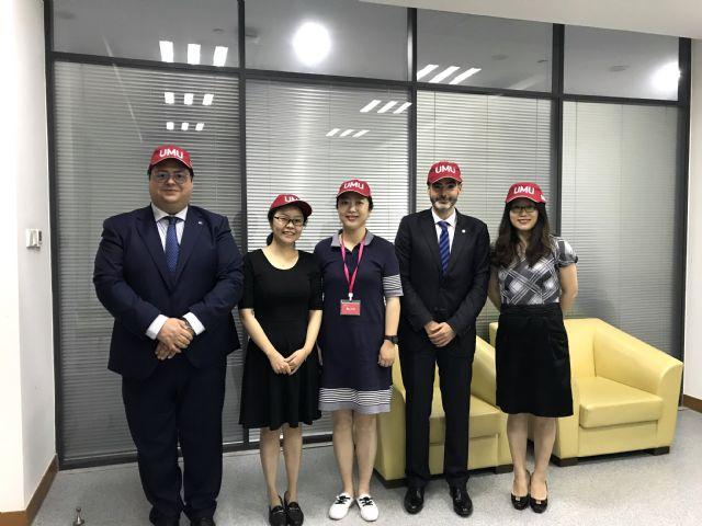 La facultad de Economía y Empresa de la UMU visita la Shanghai Jiao Tong University para el fomento de relaciones internacionales - 1, Foto 1
