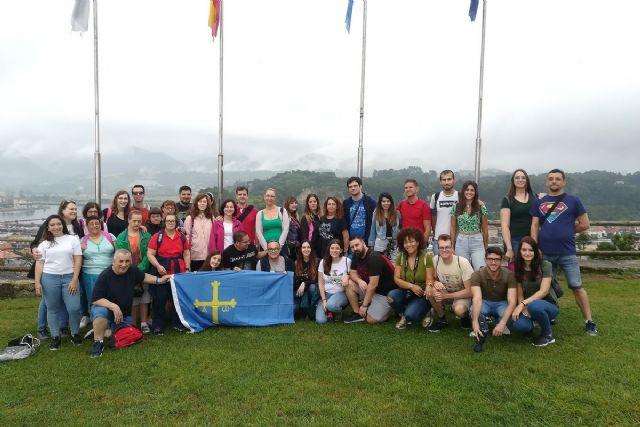 Jóvenes cartageneros disfrutan de un viaje a Asturias con el programa T-La - 1, Foto 1