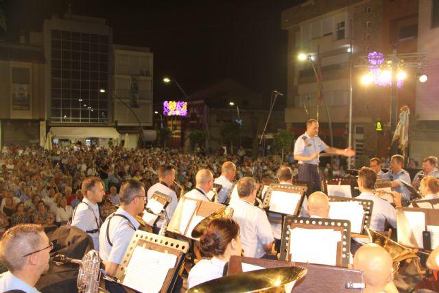 La Unidad de Música de la Academia General de Aire rinde homenaje a la Virgen del Carmen 2019 - 2, Foto 2