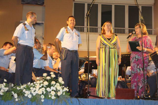 La Unidad de Música de la Academia General de Aire rinde homenaje a la Virgen del Carmen 2019 - 3, Foto 3
