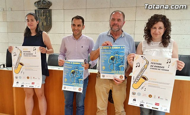 "The XXIX Music Band Festival ""Ciudad de Totana"" will be held on July 20"
