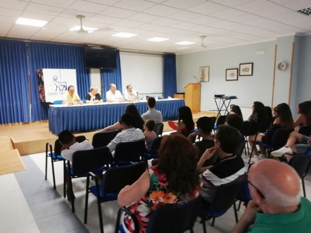 "Municipal authorities close the XV Training Days aimed at Affected with Inhibitor and their Families in the Day and Permanent Training Center of ""La Charca"""