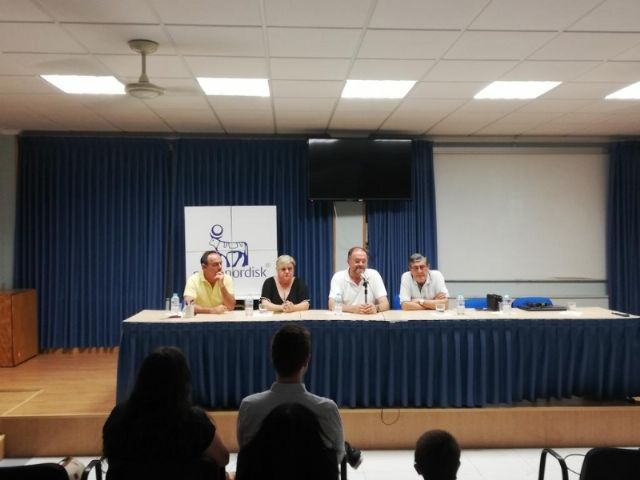 """Municipal authorities close the XV Training Days aimed at Affected with Inhibitor and their Families in the Day and Permanent Training Center of """"La Charca"""", Foto 9"""