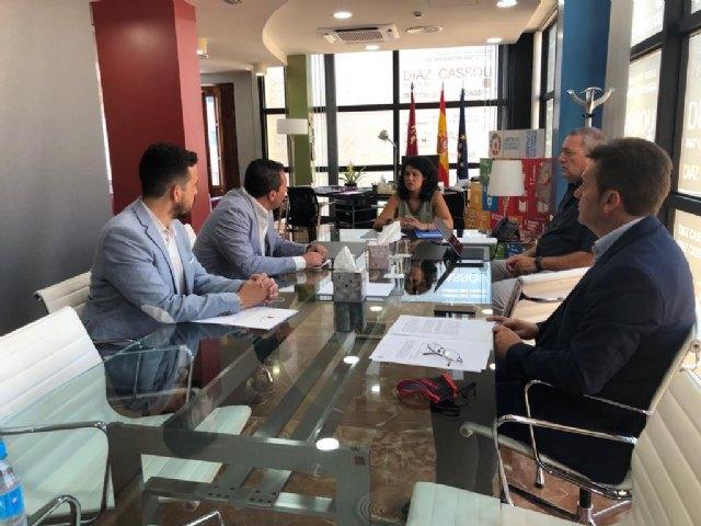 El Alcalde y el Concejal de Seguridad Ciudadana se reúnen con la Consejera de Transparencia - 1, Foto 1