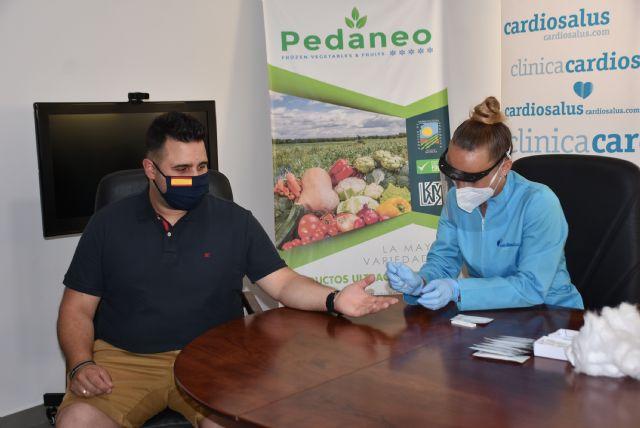 Se inicia la campaña de test masivos a trabajadores del sector agrícola - 1, Foto 1