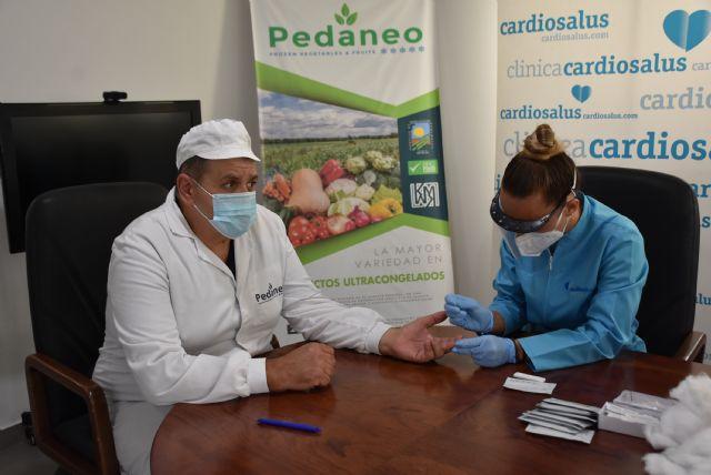 Se inicia la campaña de test masivos a trabajadores del sector agrícola - 2, Foto 2