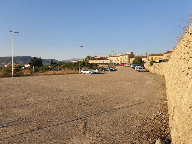 Abierto el nuevo aparcamiento del barrio de la Fuensanta de Mula - 1, Foto 1