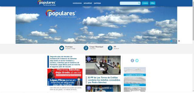El PP de Las Torres de Cotillas estrena página web - 1, Foto 1