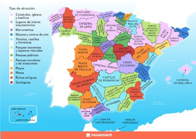 La atracción turística más popular en cada provincia española - 1, Foto 1