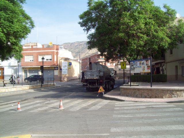 Mejoras en las calles de Alhama con el ´Plan Asfalto 2017´, Foto 1
