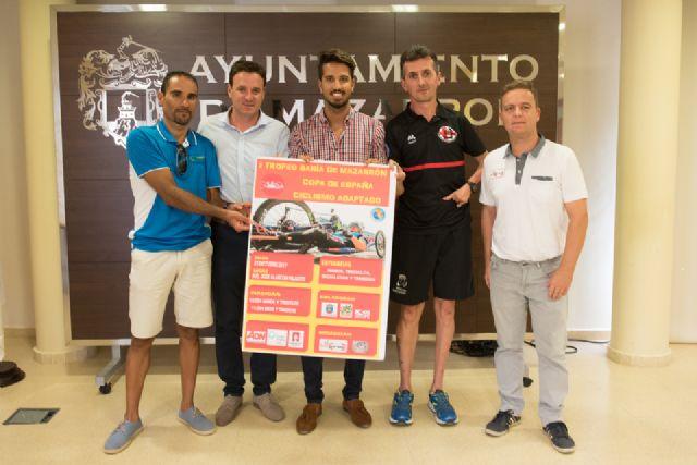 Mazarrón será sede de una de las pruebas de la Copa de España de Ciclismo Adaptado, Foto 1