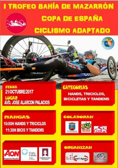 Mazarrón será sede de una de las pruebas de la Copa de España de Ciclismo Adaptado, Foto 3