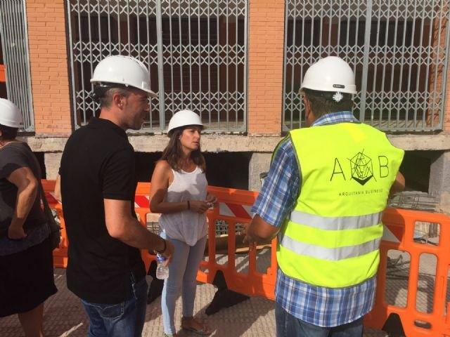 Ejecutadas el 40 por ciento de las obras de verano en los centros educativos de la Región, Foto 1