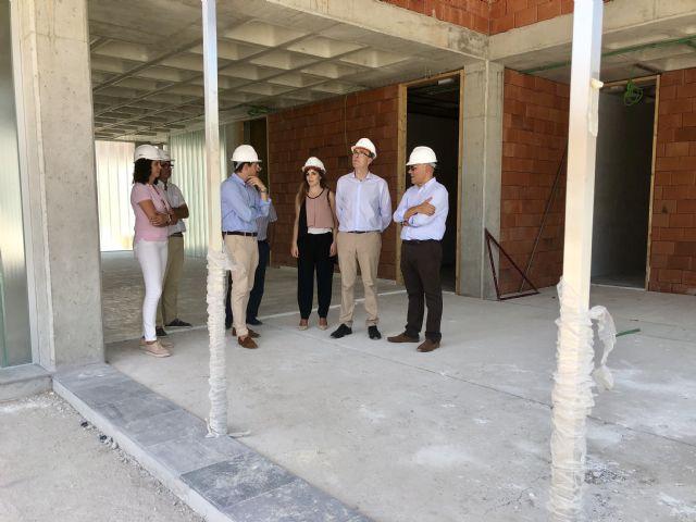 Las obras de la nueva Biblioteca y Centro Cultural de Beniaján encaran su recta final con una ejecución que supera el 60% - 3, Foto 3