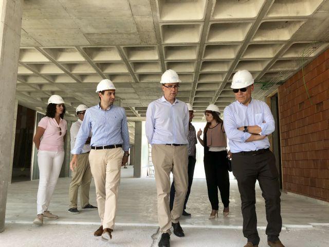 Las obras de la nueva Biblioteca y Centro Cultural de Beniaján encaran su recta final con una ejecución que supera el 60% - 4, Foto 4
