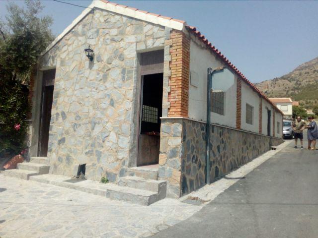El lavadero tradicional de Zarzadilla de Totana ha sido renovado por alumnos de 4 programas de empleo desarrollados por el Ayuntamiento de Lorca - 2, Foto 2