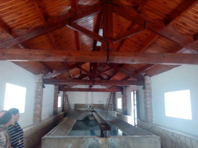 El lavadero tradicional de Zarzadilla de Totana ha sido renovado por alumnos de 4 programas de empleo desarrollados por el Ayuntamiento de Lorca - 4, Foto 4