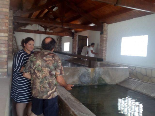 El lavadero tradicional de Zarzadilla de Totana ha sido renovado por alumnos de 4 programas de empleo desarrollados por el Ayuntamiento de Lorca - 5, Foto 5