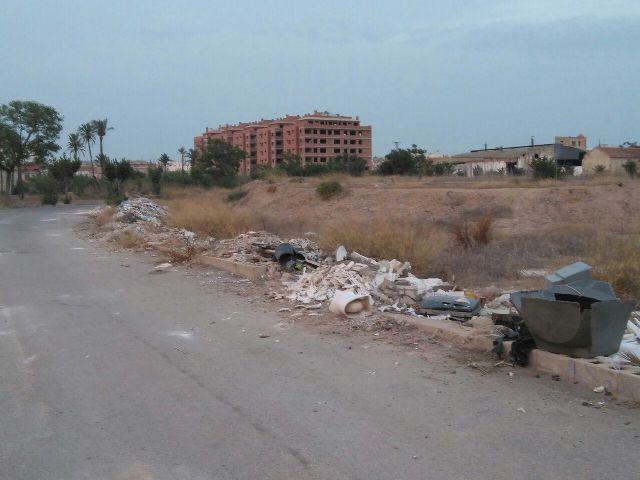 Ahora Murcia demanda que el estado de limpieza de las ramblas sea un punto básico de 'Murcia río' - 1, Foto 1