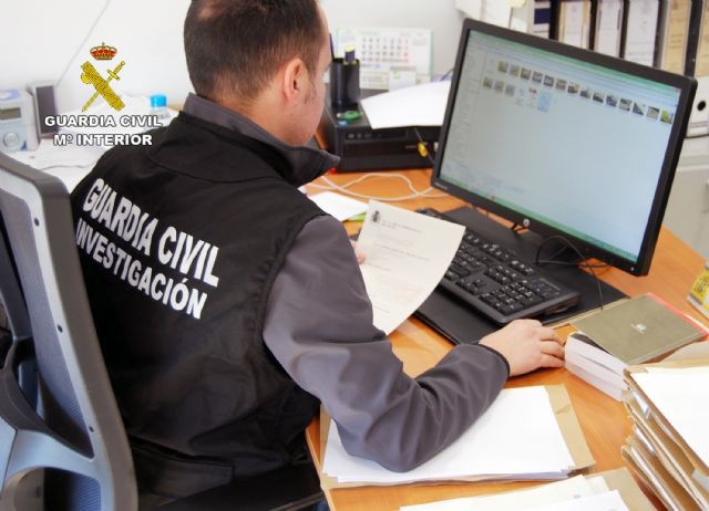 La Guardia Civil esclarece una decena de robos en viviendas de las pedanías murcianas de Santa Cruz y El Raal - 1, Foto 1