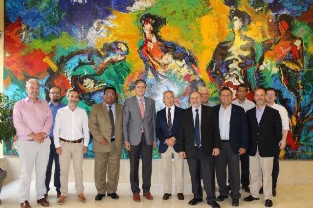 Una delegación latinoamericana visita la cuenca del Segura para estudiar el uso eficiente del agua, Foto 2