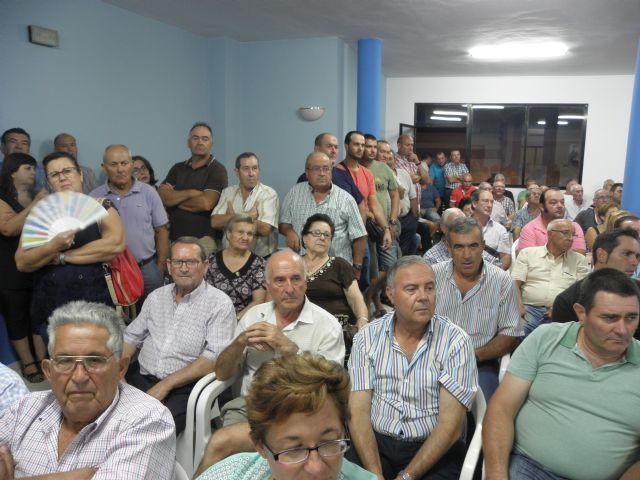 Masiva asistencia a la asamblea informativa celebrada en Totana por el agua, Foto 2