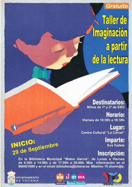 "A ""Imagination Workshop from Reading"" will be offered - 1"