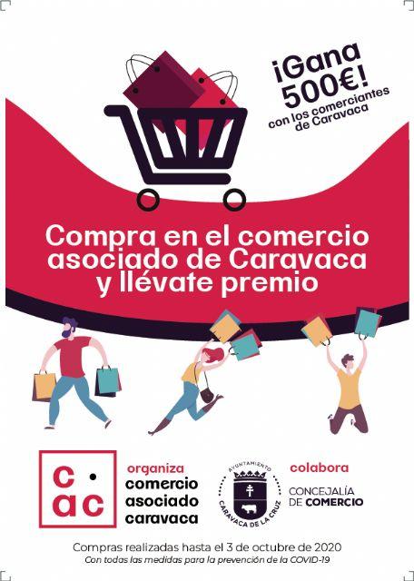 Los clientes que efectúen sus compras hasta el 3 de octubre en el comercio asociado de Caravaca optarán a un cheque regalo para gastar en los establecimientos valor de 500 euros - 1, Foto 1