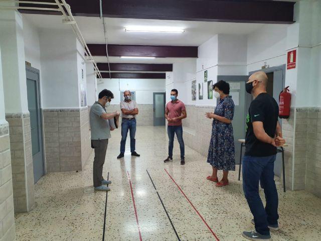 Técnicos de la Consejería de Educación visitan el antiguo colegio Sagrado Corazón para albergar los Ciclos Formativos del IES Rambla de Nogalte - 3, Foto 3
