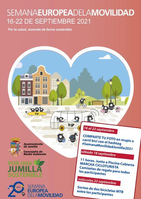 Jumilla participará por cuarto año en la Semana Europea de la Movilidad con el lema 'Por tu salud, muévete de forma sostenible' - 1, Foto 1