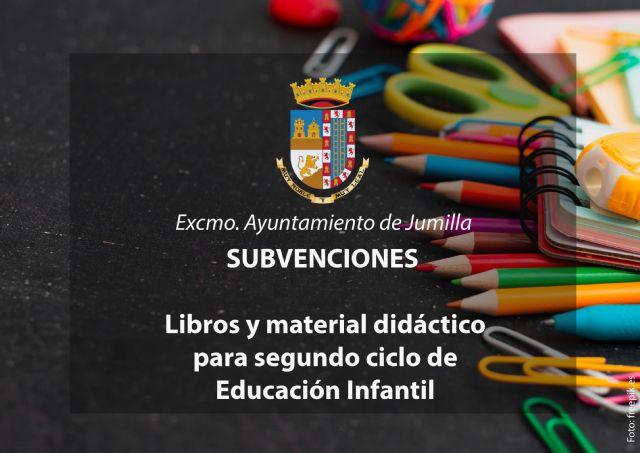 Mañana se abre el plazo para solicitar subvenciones para libros y material de 2º ciclo de Educación Infantil - 1, Foto 1