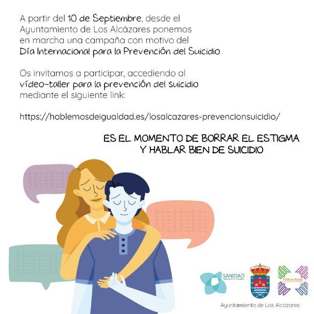 El Ayuntamiento de Los Alcázares pone en marcha una campaña con motivo del Día Internacional para la Prevención del Suicidio - 1, Foto 1