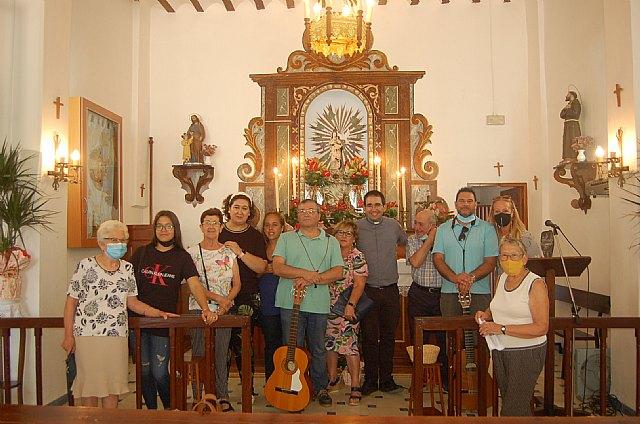 [Celebración de la Natividad de la Virgen María en la Ermita de La Huerta de Totana
