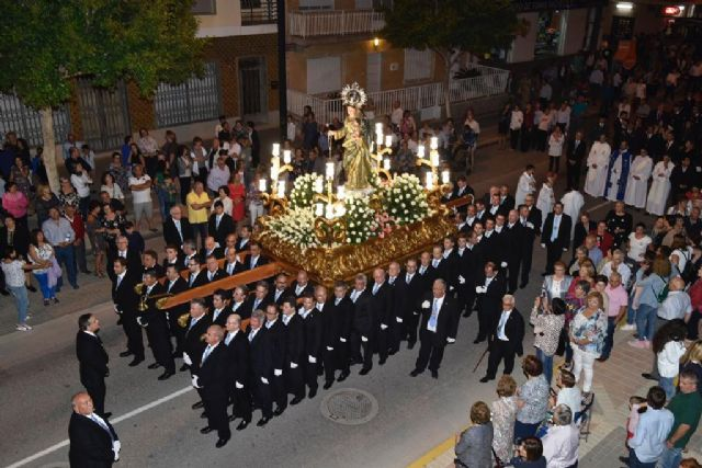 La Patrona de Torre Pacheco en Procesión por las calles de la localidad - 1, Foto 1