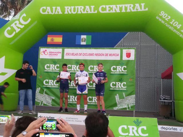 El totanero Luis Cayuela Cánovas triunfa en el Campeonato Regional de Ciclismo de Escuelas de Ruta, Foto 2