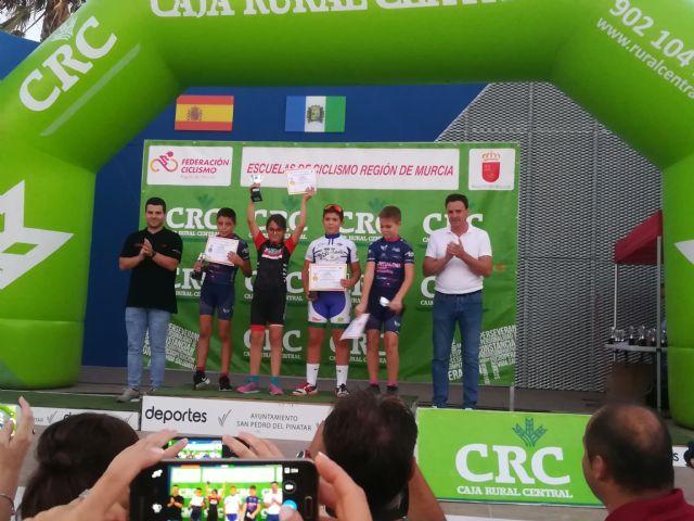 El totanero Luis Cayuela Cánovas triunfa en el Campeonato Regional de Ciclismo de Escuelas de Ruta, Foto 4