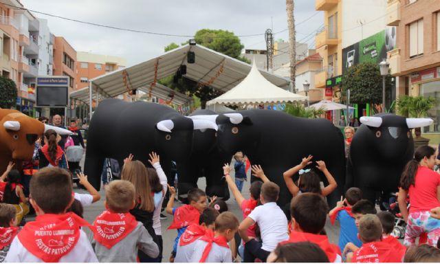 Centenares de pequeños lumbrerenses participan en el Encierro Infantil - 1, Foto 1